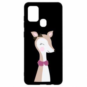 Samsung A21s Case Deer cub