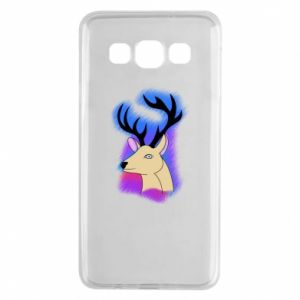 Samsung A3 2015 Case Deer on a colored background