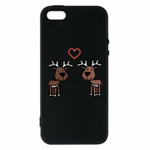 Phone case for iPhone 5/5S/SE Deer in love