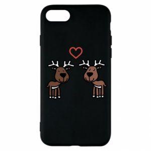 iPhone SE 2020 Case Deer in love