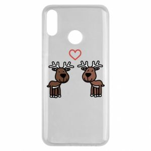 Huawei Y9 2019 Case Deer in love