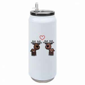 Thermal bank Deer in love