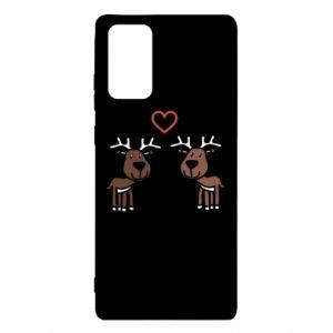 Samsung Note 20 Case Deer in love