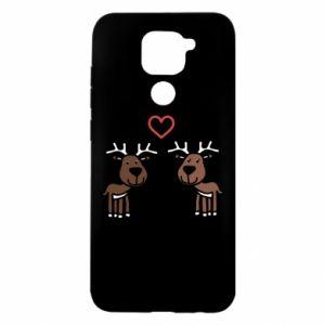 Xiaomi Redmi Note 9 / Redmi 10X case % print% Deer in love