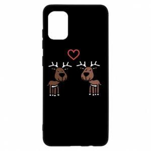 Samsung A31 Case Deer in love