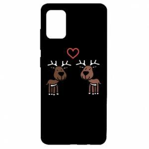 Samsung A51 Case Deer in love