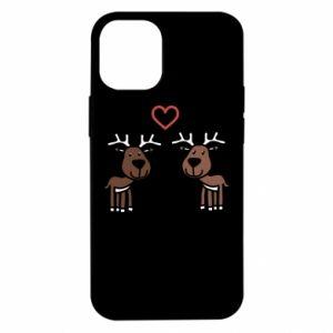 iPhone 12 Mini Case Deer in love