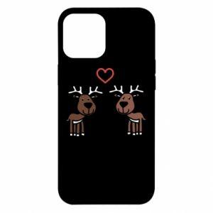 iPhone 12 Pro Max Case Deer in love