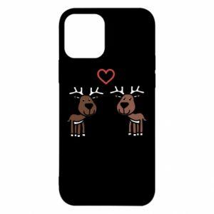 iPhone 12/12 Pro Case Deer in love