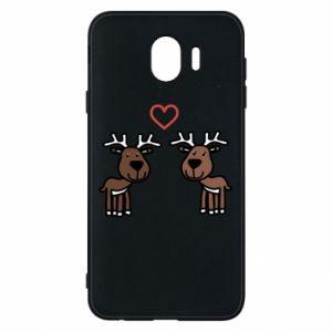Phone case for Samsung J4 Deer in love