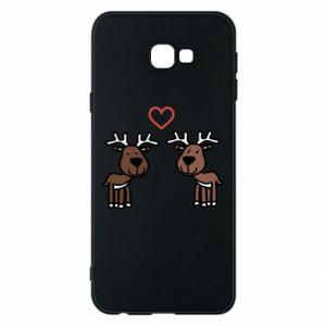 Phone case for Samsung J4 Plus 2018 Deer in love