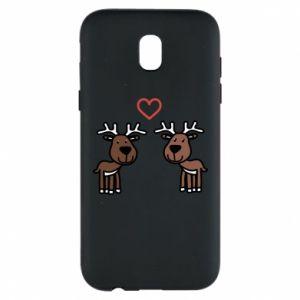 Phone case for Samsung J5 2017 Deer in love