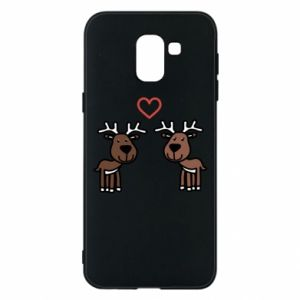 Phone case for Samsung J6 Deer in love