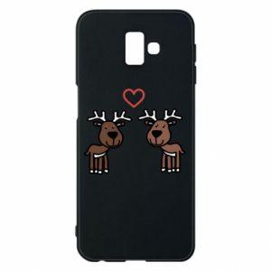 Phone case for Samsung J6 Plus 2018 Deer in love