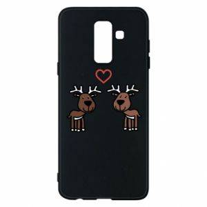Phone case for Samsung A6+ 2018 Deer in love