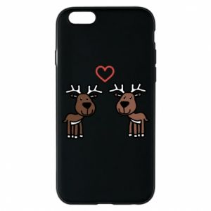 Phone case for iPhone 6/6S Deer in love