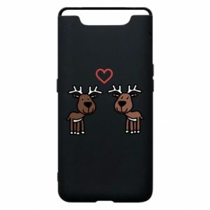 Phone case for Samsung A80 Deer in love