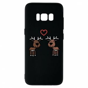 Phone case for Samsung S8 Deer in love