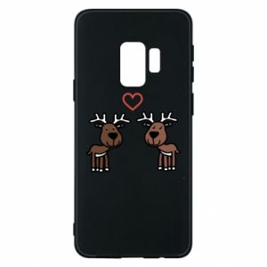 Phone case for Samsung S9 Deer in love