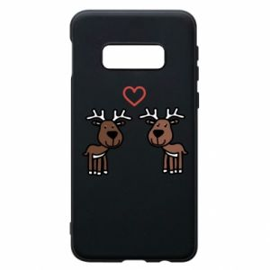 Phone case for Samsung S10e Deer in love