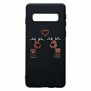 Phone case for Samsung S10 Deer in love