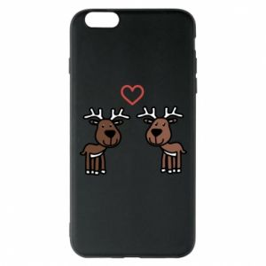 Phone case for iPhone 6 Plus/6S Plus Deer in love