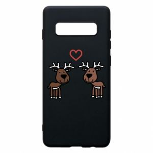 Phone case for Samsung S10+ Deer in love
