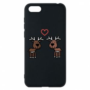 Phone case for Huawei Y5 2018 Deer in love