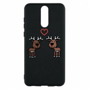 Phone case for Huawei Mate 10 Lite Deer in love