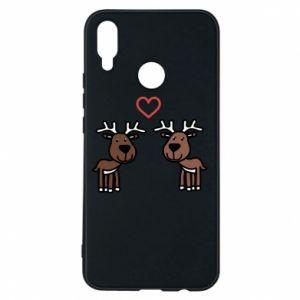 Phone case for Huawei P Smart Plus Deer in love