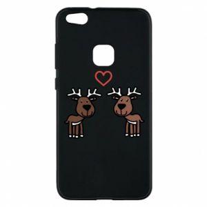 Phone case for Huawei P10 Lite Deer in love