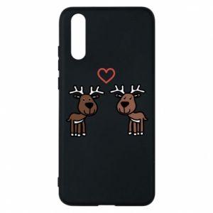 Phone case for Huawei P20 Deer in love