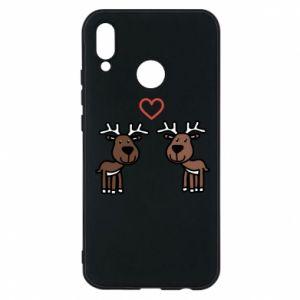 Phone case for Huawei P20 Lite Deer in love