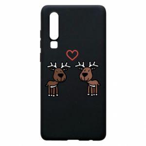 Phone case for Huawei P30 Deer in love