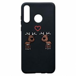 Phone case for Huawei P30 Lite Deer in love
