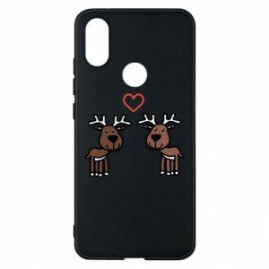 Phone case for Xiaomi Mi A2 Deer in love