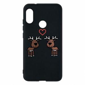 Phone case for Mi A2 Lite Deer in love