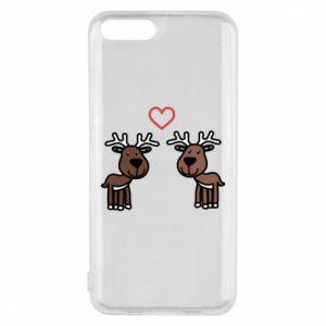Phone case for Xiaomi Mi6 Deer in love