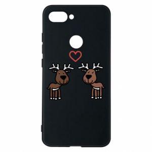 Phone case for Xiaomi Mi8 Lite Deer in love