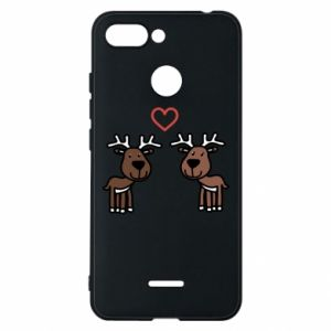Phone case for Xiaomi Redmi 6 Deer in love