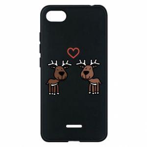 Phone case for Xiaomi Redmi 6A Deer in love
