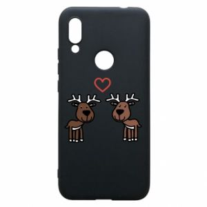 Phone case for Xiaomi Redmi 7 Deer in love