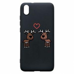 Phone case for Xiaomi Redmi 7A Deer in love
