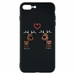 Phone case for iPhone 7 Plus Deer in love