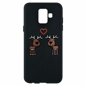 Phone case for Samsung A6 2018 Deer in love