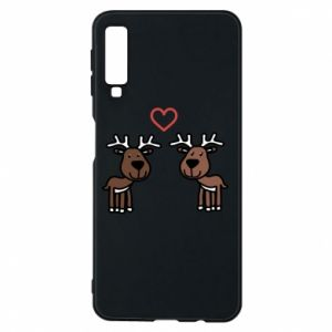 Phone case for Samsung A7 2018 Deer in love