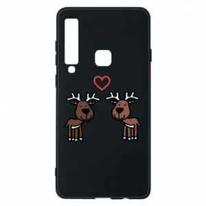 Phone case for Samsung A9 2018 Deer in love