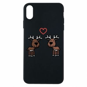 Phone case for iPhone Xs Max Deer in love