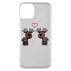 Phone case for iPhone 11 Deer in love
