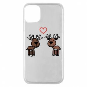 Phone case for iPhone 11 Pro Deer in love